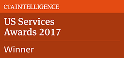"Bewertungen für Interactive Brokers: Sieger 2017 bei den CTA US Services Awards 2017 in der Kategorie ""Bester FCM - Technologie"""