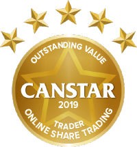 "Categoria ""Outstanding Value for Traders"" Canstar"