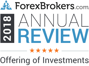 "ForexBrokers.com: 5 stelle su 5 nella categoria ""Offering of Investment"" (offerta d'investimento)"
