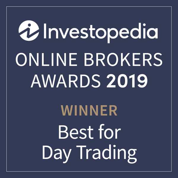 "Menzione nella classifica ""Best for Day Trading"" (migliori broker online per il day trading) di Investopedia"