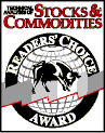 Stocks and Commodities Award