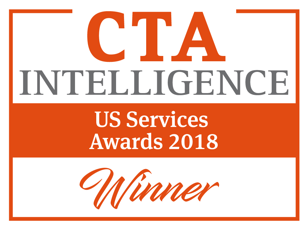 "CTA Intelligence US Services Award - ""Bester FCM - Technologie"""