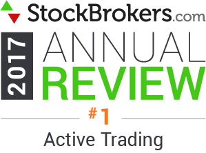 Bewertungen für Interactive Brokers: Stockbrokers.com Awards 2017 - Bester Broker für aktive Trader