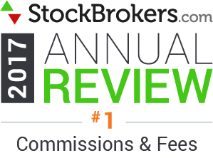 Valutazioni Interactive Brokers: riconoscimenti Stockbrokers.com 2017: Lowest Commissions and Fees (offerta di commissioni e tariffe più basse)
