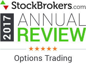 Bewertungen für Interactive Brokers: Stockbrokers.com Awards 2017 - 5 Sterne - Optionshandel