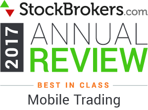 "Bewertungen für Interactive Brokers: Stockbrokers.com Awards 2017 - Best-in-Class - ""Aktives Trading"""