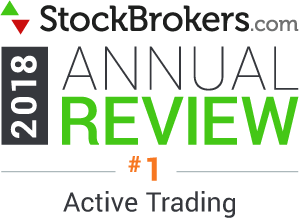 "Valutazioni Interactive Brokers: riconoscimenti Stockbrokers.com 2018 - classificatosi al 1° posto nel 2018 nella categoria ""Active Trading"" (trading frequente)"