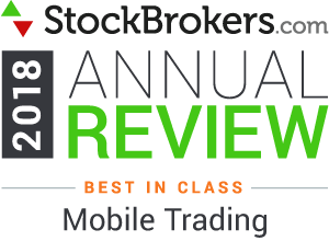 "Bewertungen für Interactive Brokers: Stockbrokers.com Awards 2018 - Nr. 1 in der Kategorie 2018 ""Mobiles Trading"""