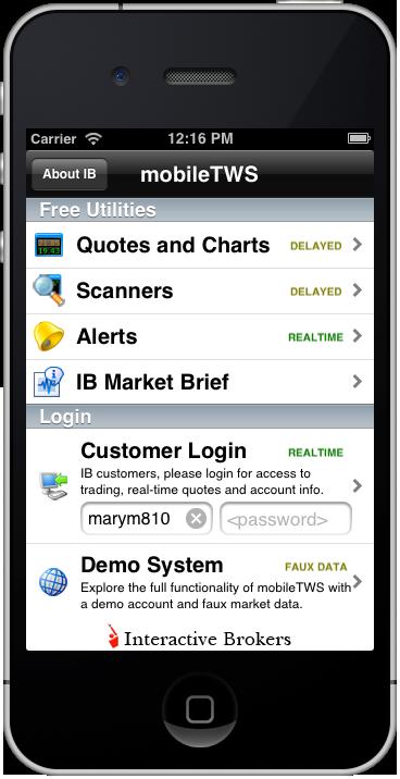 interactive brokers demo username password wie man in bitcoin oder ethereum investiert